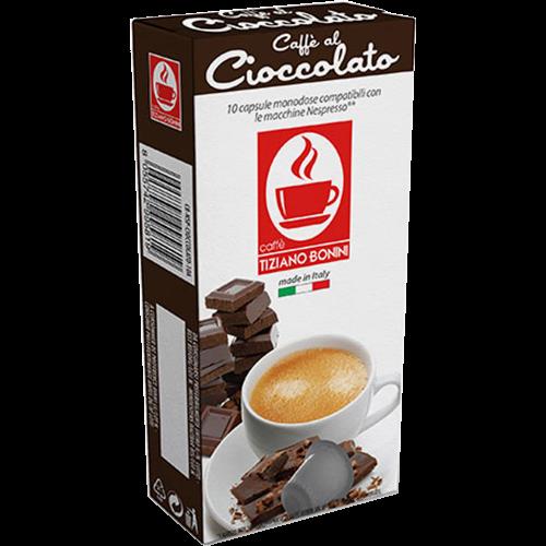 Caffè Bonini Caffè al Cioccolato kaffekapslar till Nespresso 10st