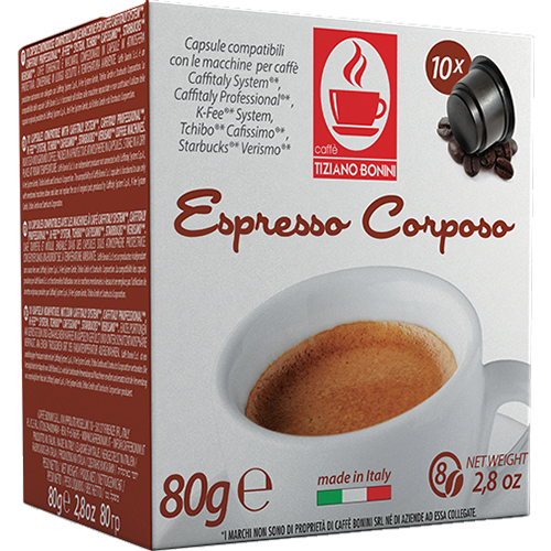Caffè Bonini Corposo kaffepods 50st