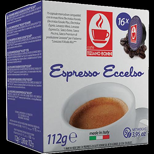 Caffè Bonini Eccelso A Modo Mio kaffekapslar 16st