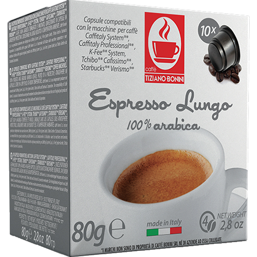 Caffè Bonini Lungo Caffitaly kaffekapslar 10st