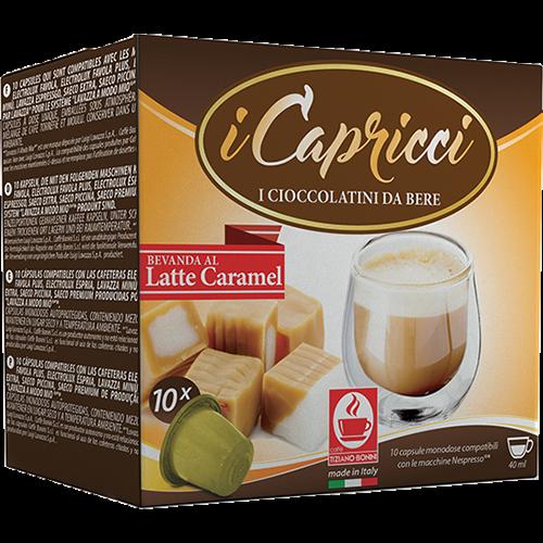 Caffè Bonini Latte Caramel kapslar till Nespresso 10st