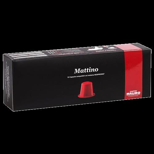 Caffè Mauro Mattino Nespresso kaffekapslar 10st utgånget datum