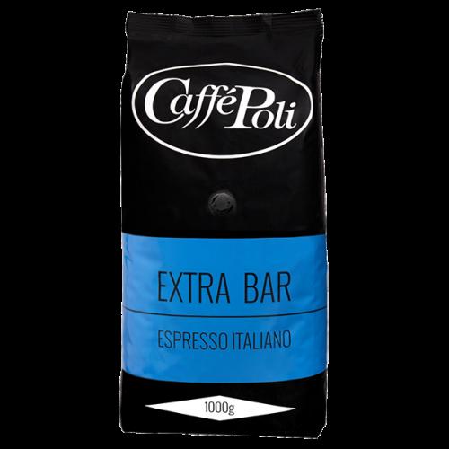 Caffè Poli ExtraBar kaffebönor 1000g