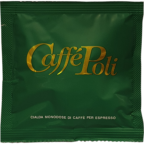 Caffè Poli Bar gröna kaffepods 1st