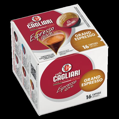 Cagliari Grand Espresso A Modo Mio kaffekapslar 16st