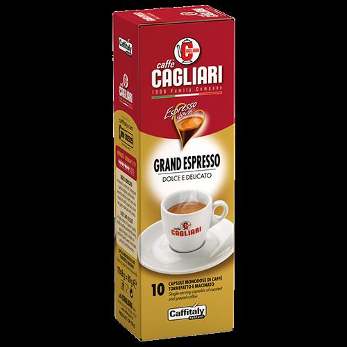 Cagliari Grand Espresso Caffitaly kaffekapslar 10st