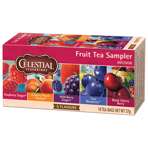 Celestial tea Fruit tea Sampler tepåsar 18st
