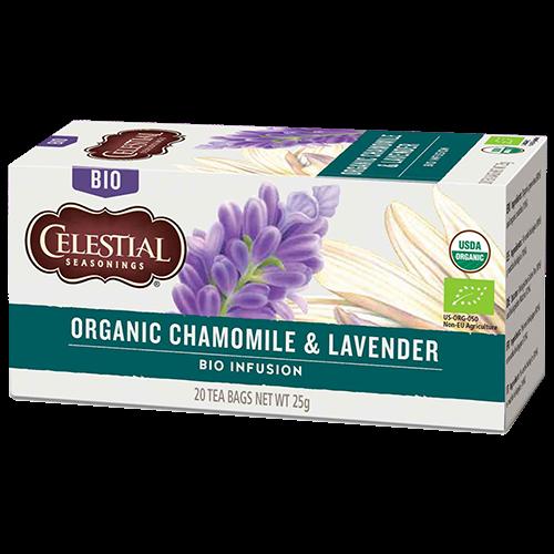 Celestial tea Organic Chamomile & Lavender tepåsar 20st