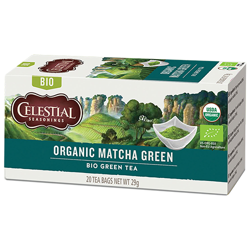 Celestial tea Organic Matcha Green tepåsar 20st