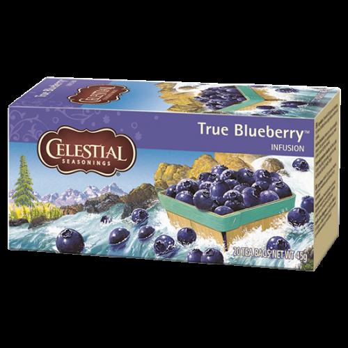 Celestial tea True Blueberry tepåsar 20st utgånget datum