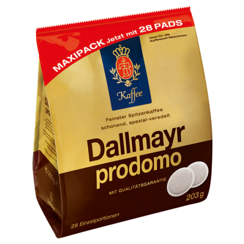 Dallmayr Prodomo kaffepads 28st
