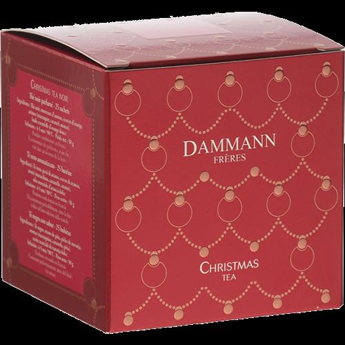 Dammann Frères Svart Jul-Te tepåsar 25st