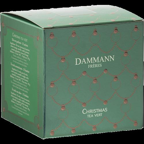 Dammann Frères Grönt Jul-Te tepåsar 25st