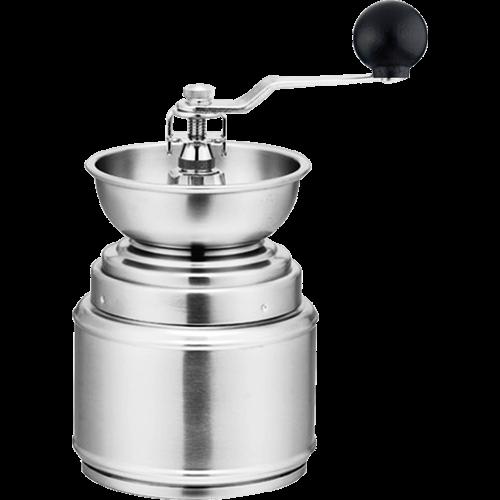 forever manuell kaffekvarn i rostfritt stål