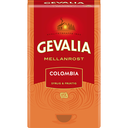 Gevalia Colombia malet kaffe 425g