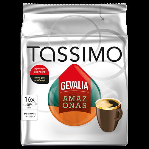 Gevalia Amazonas Tassimo kaffekapslar 16st