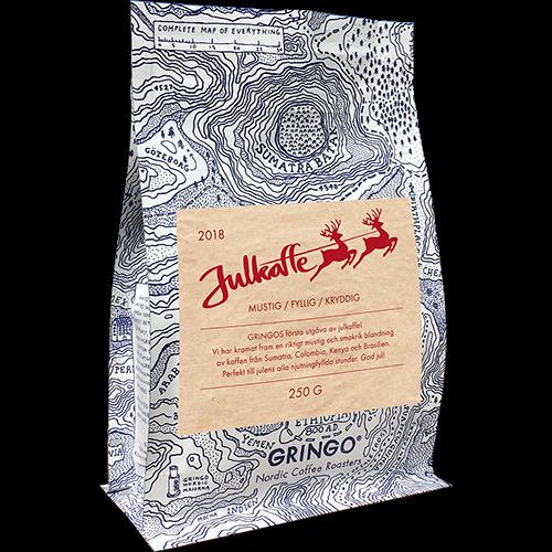 Gringo Julkaffe 2018 malet kaffe 250g