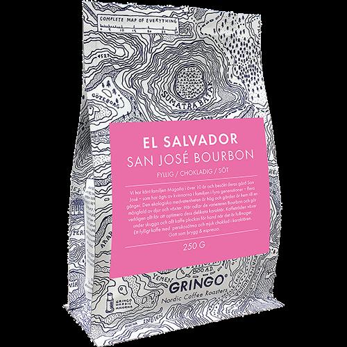 Gringo El Salvador San José Bourbon kaffebönor 250g