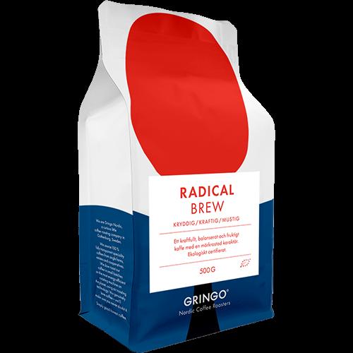 Gringo Radical Brew Eko kaffebönor 500g