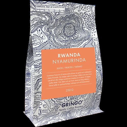 Gringo Rwanda Nyamurinda kaffebönor 250g