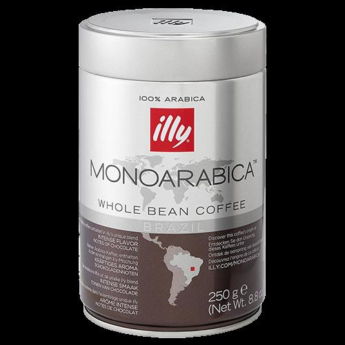 illy Espresso Monoarabica Brazil kaffebönor 250g