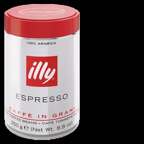 illy Espresso plåtburk kaffebönor 250g x12