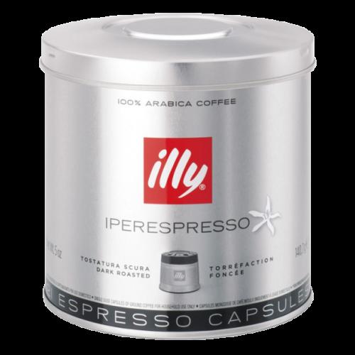 illy Iperespresso mörkrost kaffekapslar 21st
