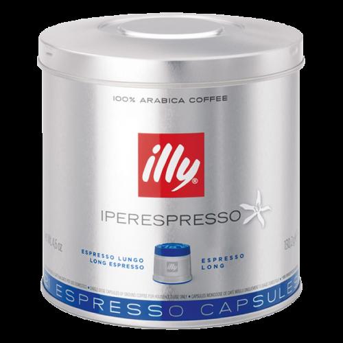illy Iperespresso lungo kaffekapslar 21st
