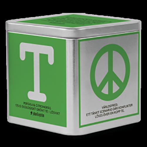 johan & nyström T-Te Persika & Citrongräs ekologiskt grönt te i lösvikt 175g