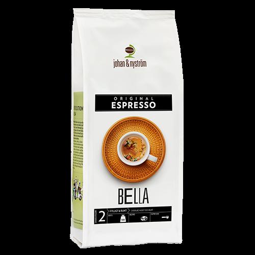 johan & nyström Espresso Bella kaffebönor 500g