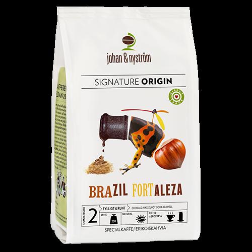 johan & nyström Brazil Fortaleza kaffebönor 250g