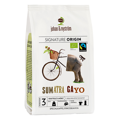 johan & nyström Sumatra Gayo Mountain kaffebönor 250g