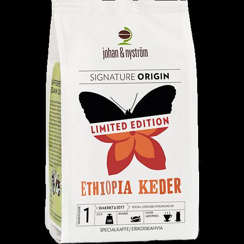 johan & nyström Ethiopia Keder kaffebönor 250g