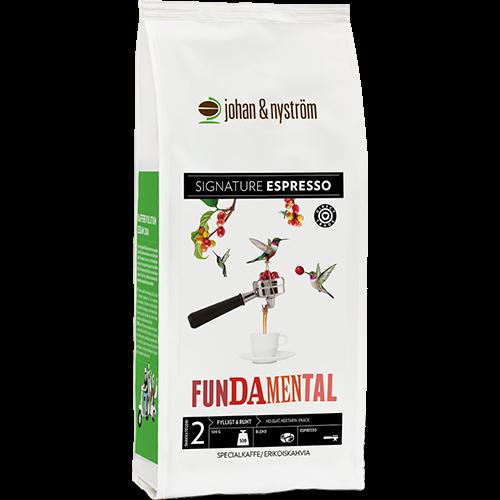 johan & nyström Fundamental kaffebönor 500g