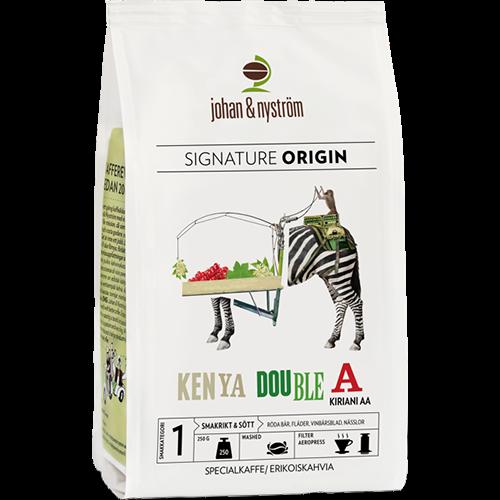 johan & nyström Kenya Double A kaffebönor 250g
