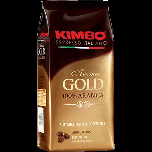 Kimbo Espresso Aroma Gold kaffebönor 250g