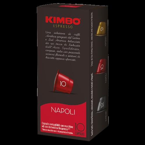 Kimbo Napoli kaffekapslar till Nespresso 10st