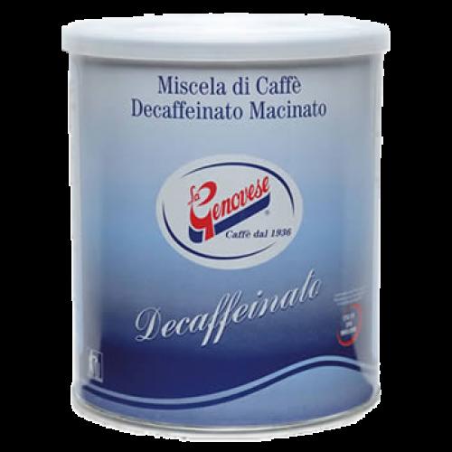 La Genovese Decaffeinato malet kaffe 250g