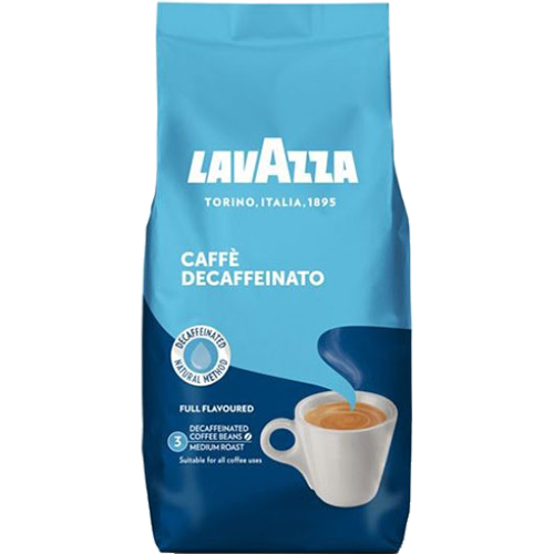 Lavazza Caffè Crema Decaffeinato kaffebönor 500g