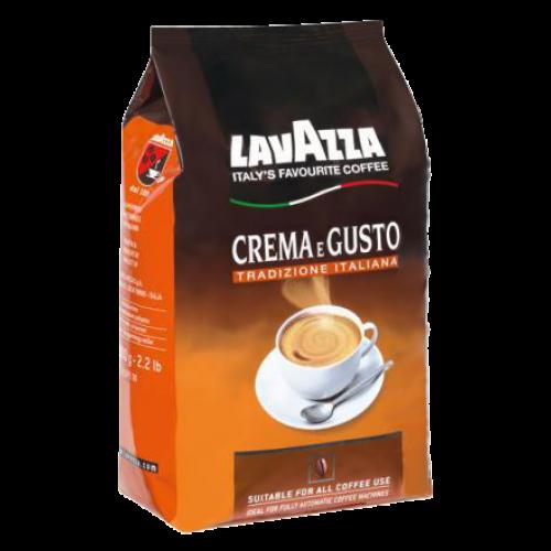 Lavazza Crema e Gusto kaffebönor 1000g