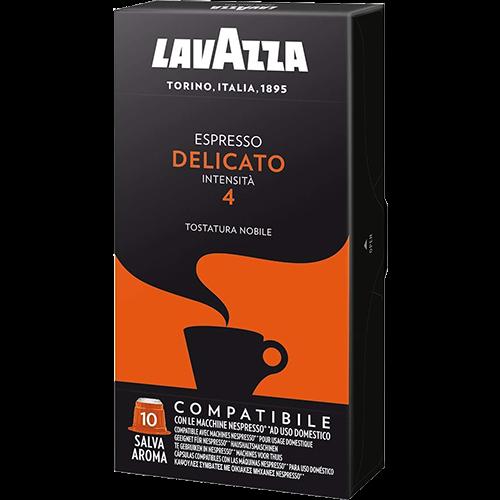 Lavazza Espresso Delicato kaffekapslar till Nespresso 10st