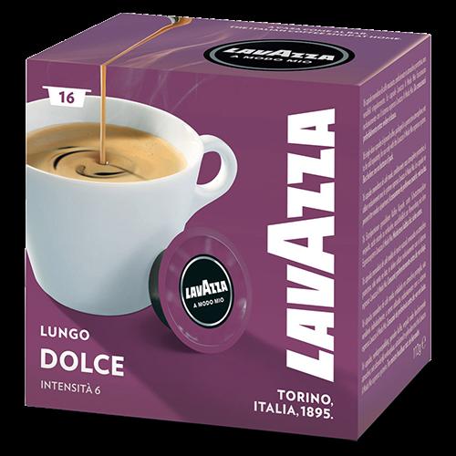 Lavazza A Modo Mio Lungo Dolce kaffekapslar 16st