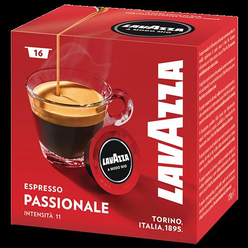 Lavazza A Modo Mio Espresso Passionale kaffekapslar 16st
