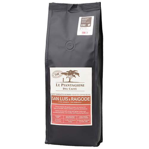 Le Piantagioni Del Caffè San Luis & Raigode kaffebönor 500g