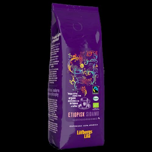 Löfbergs Lila Etiopisk Sidamo Espresso kaffebönor 500g