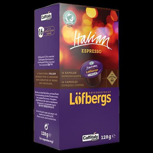 Löfbergs Lila Italian Espresso Caffitaly kaffekapslar 16st