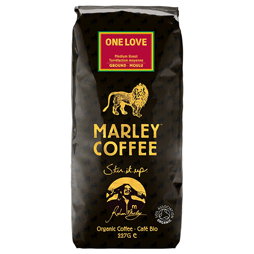 Marley Coffee One Love malet kaffe 227g