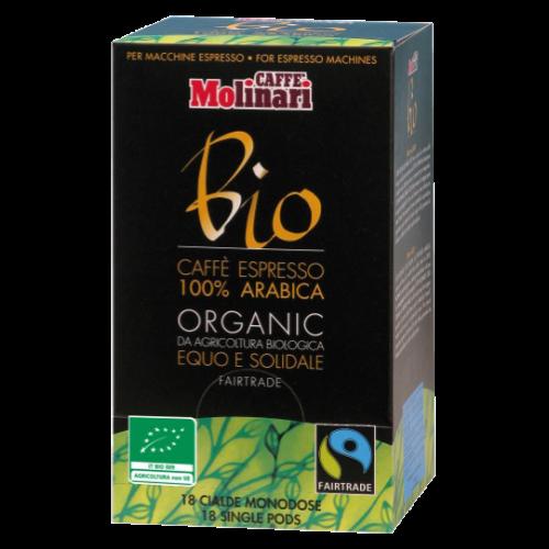 Molinari Bio kaffepods 18st