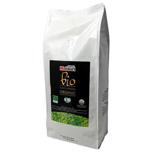 Molinari Bio Organic kaffebönor 1000g