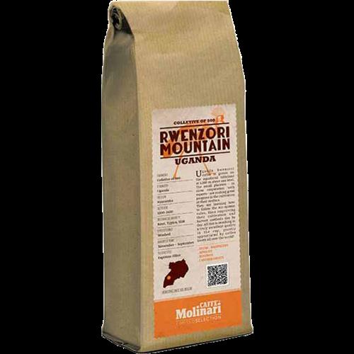 Molinari Rwenzori Mountain Uganda kaffebönor 250g